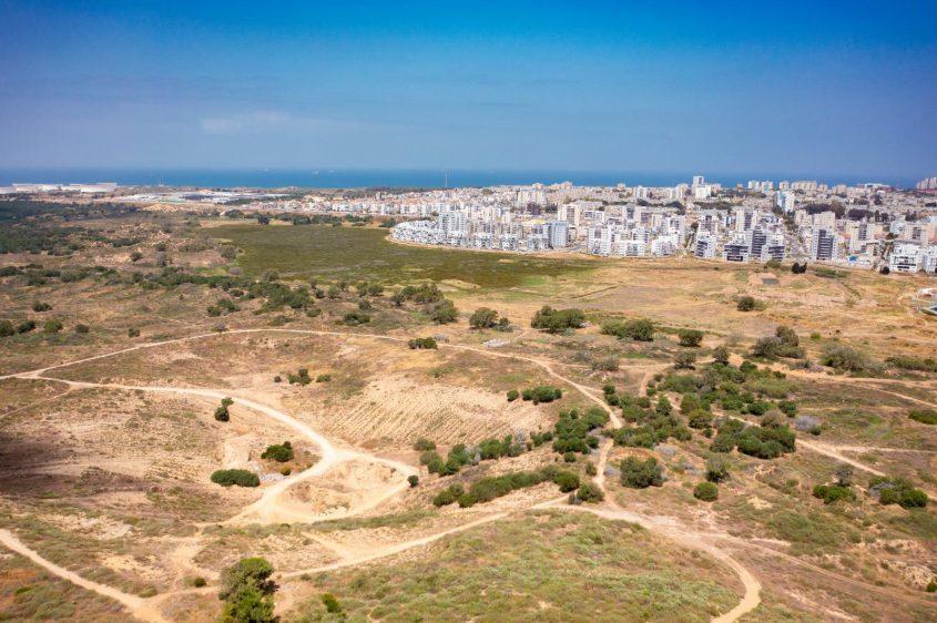 כאן יוקם פארק אקו ספורט. צילום: אדי ישראל