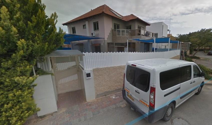 """הבית בו פעל גן """"דיסני"""". צילום: מתוך גוגל סטריטוויו"""