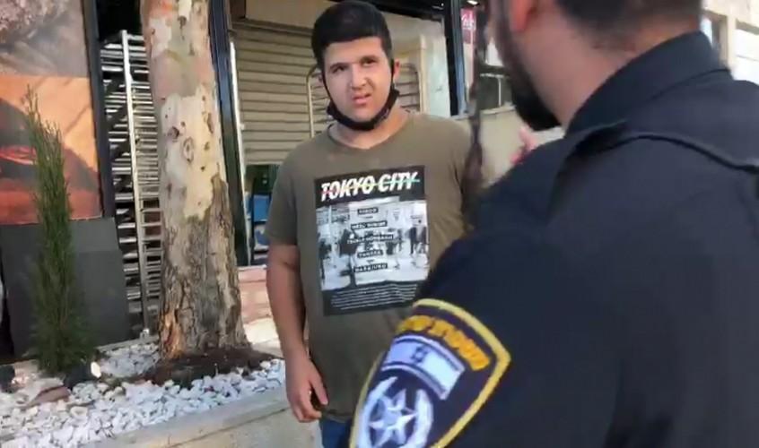 רון מכלוף בעת מעצרו