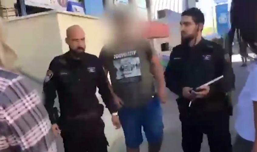 מעצרו של החשוד לפני מספר ימים