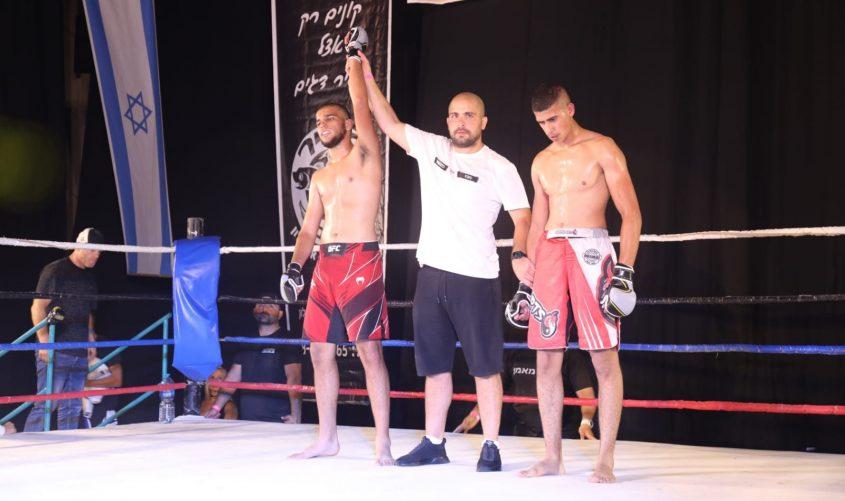 תחרות MMA. צילום: פוטו יוסי את עוזי