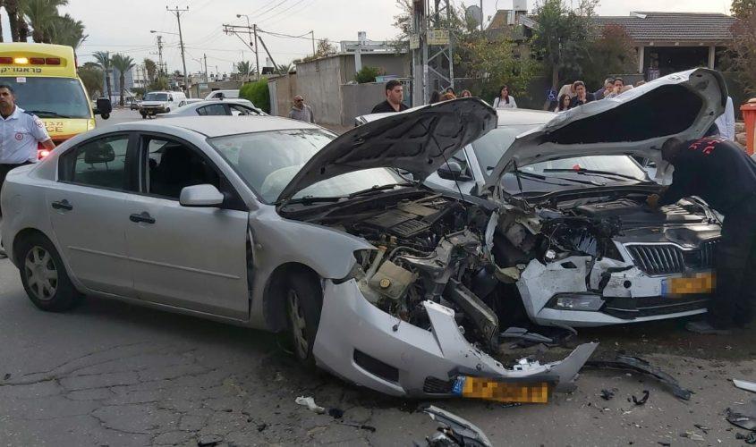 תאונת דרכים באשקלון. צילום ארכיון: יאיר לסרי