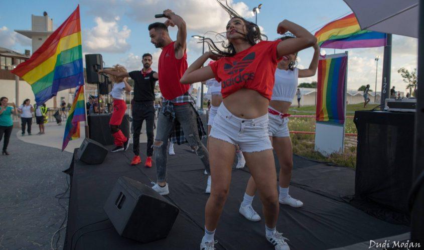 אירוע הגאווה באשקלון, 2018. צילום: דודי מודן