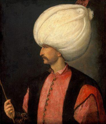 סולימאן המפואר. ציור מאת טיציאן