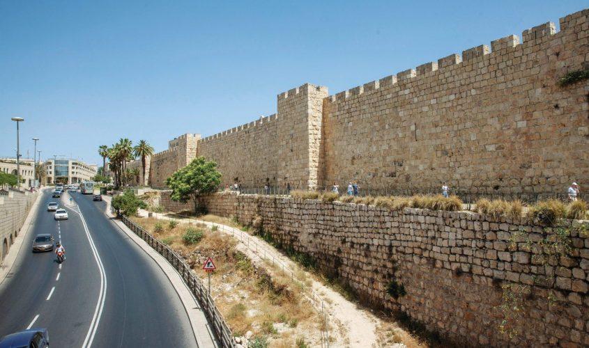 חומות העיר העתיקה. צילום: אמיל סלמן