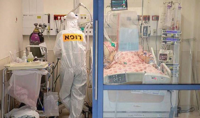 מחלקת קורונה בבית חולים. צילום: אמיל סלמן