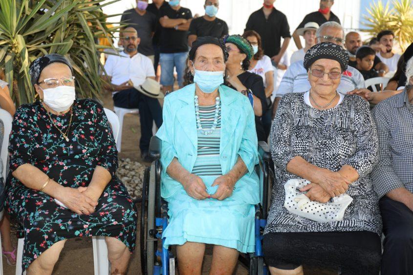 הקהל ובני המשפחה בטקס. צילום: פוטו יוסי את עוזי