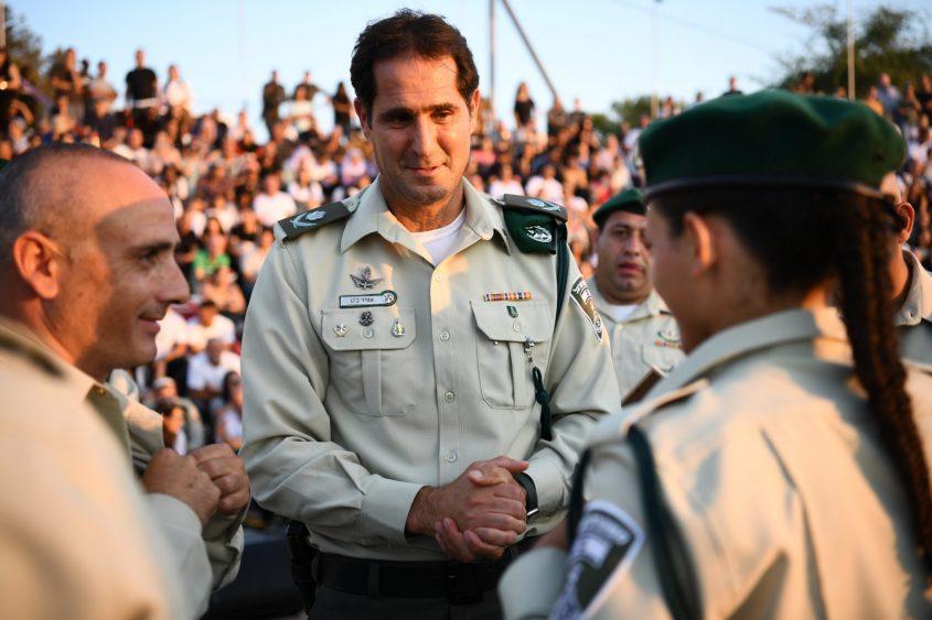 """מפקד מג""""ב, ניצב אמיר כהן. צילום: דוברות מג""""ב"""