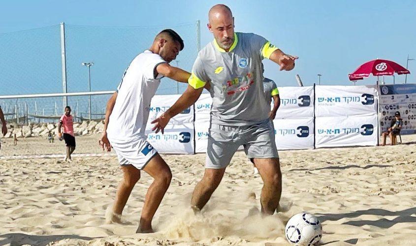 שלומי גואטה בליגת כדורגל חופים