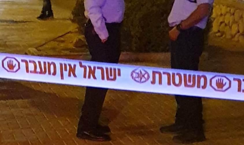 זירה. צילום: דוברות משטרת ישראל