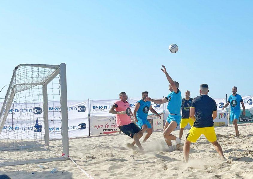 ליגת כדורגל חופים באשקלון