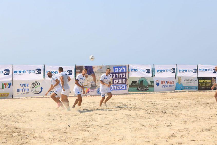 ליגת כדורגל חופים. צילום: אלדד עובדיה