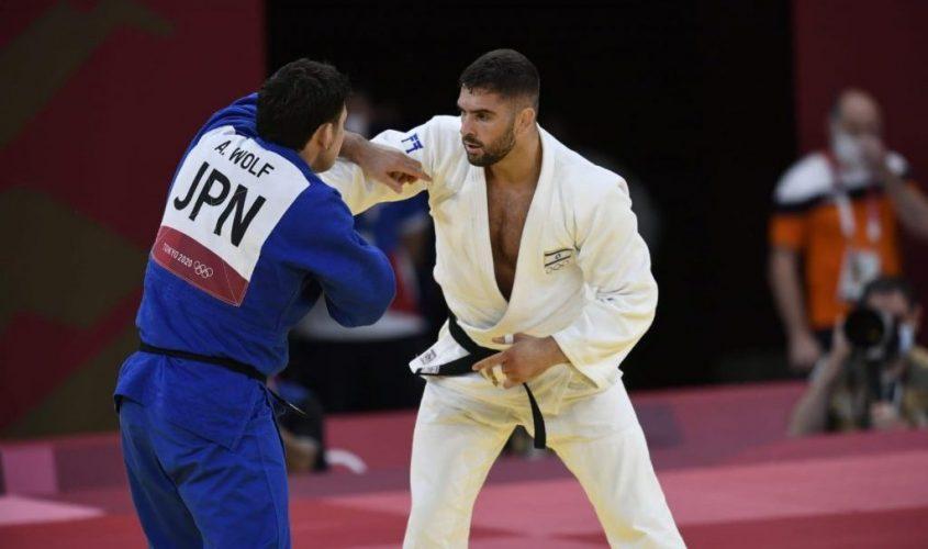 פיטר פלצ'יק באולימפיאדה. צילום: עמית שיסל, הוועד האולימפי