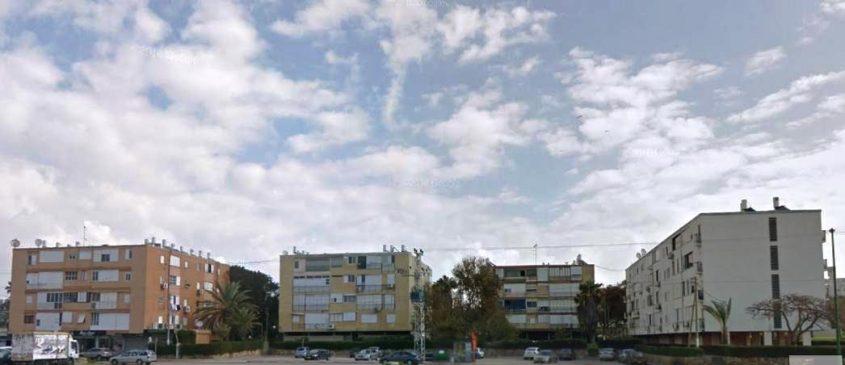 מתחם הבניינים ברחוב אבא אחימאיר. צילום: מתוך גוגל סטריטוויו