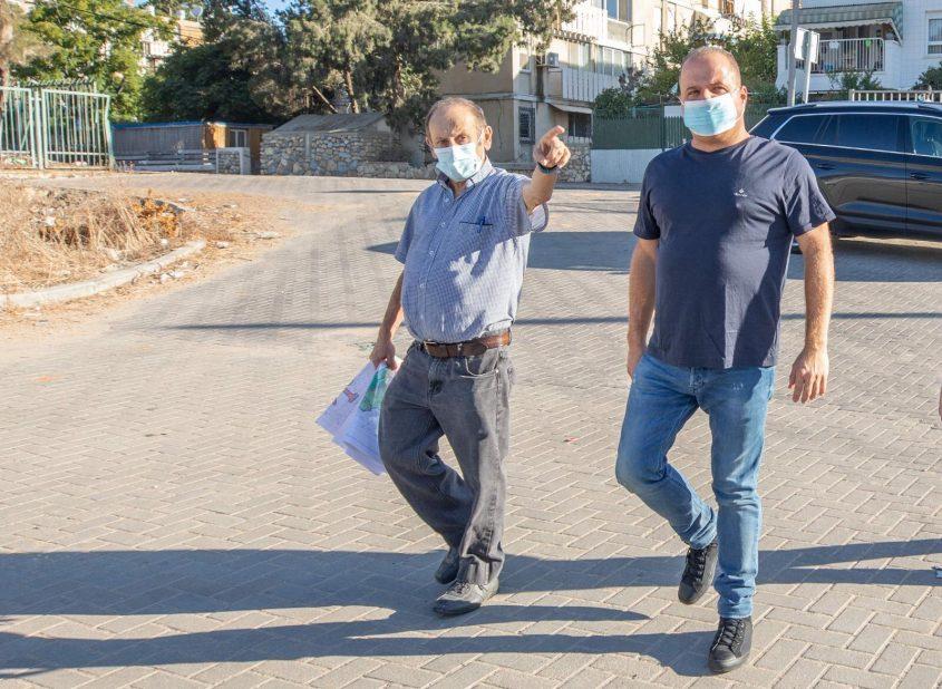 משה פוקס ותומר גלאם. צילום: סיון מטודי