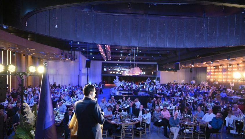 מאות המשתתפים בכנס. צילום: אוהד שביט